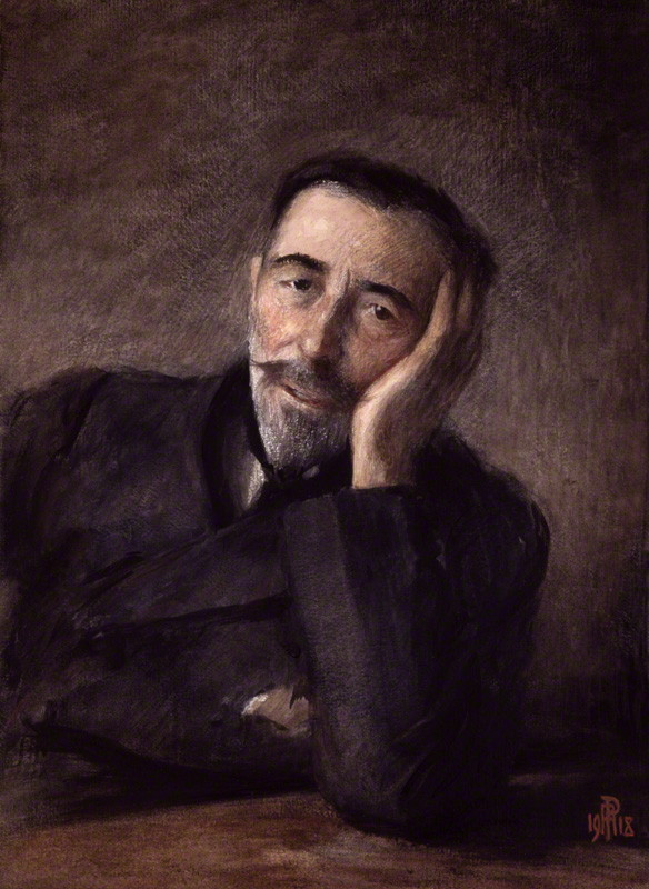 NPG 1985; Joseph Conrad by Percy Anderson